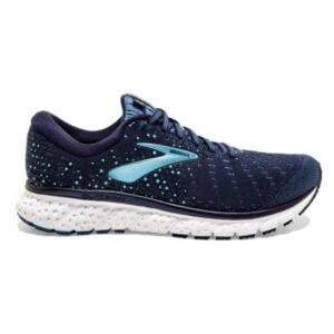 Brooks Glycerin 17 - Womens Running Shoes - Navy/Stellar/Blue