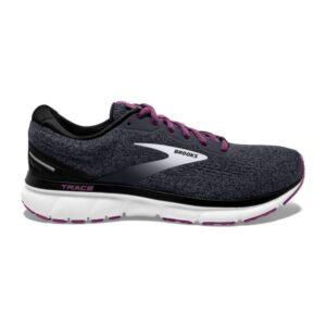 Brooks Trace - Womens Running Shoes - Ebony/Black/Wood Violet