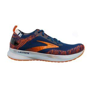 Brooks Levitate 4 - Mens Running Shoes - Navy/Orange