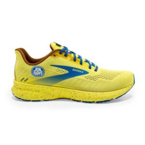 Brooks Launch 8 - Mens Running Shoes - Golden Kiwi/Pale Bana/Vic Blue