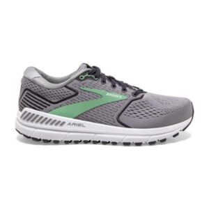 Brooks Ariel 20 - Womens Running Shoes - Alloy/Blackened Pearl/Green