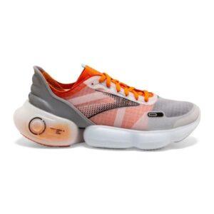 Brooks Aurora BL - Mens Running Shoes - Grey/Orange/Black