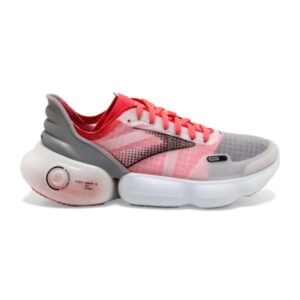 Brooks Aurora BL - Womens Running Shoes - Grey/Coral/Black
