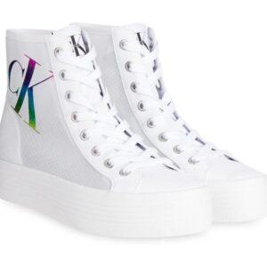Calvin Klein Calvin Klein Womens Vulcanised Hightop Sneaker Bright White
