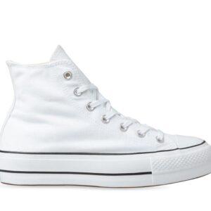 Converse Converse Womens Chuck Taylor All Star Lift Hi White