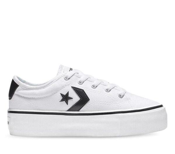 Converse Converse Womens Star Replay Platform Low White
