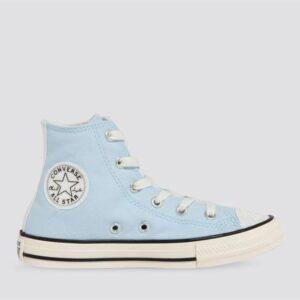 Converse Converse Kids Chuck Taylor All Star High UV Glitter Chambray Blue