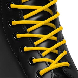Dr Martens Dr Martens 140Cm Round Laces (8-10 Eye) Yellow