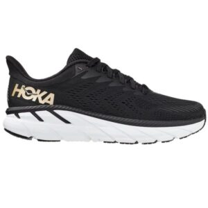 Hoka One One Clifton 7 - Womens Running Shoes - Black/Bronze