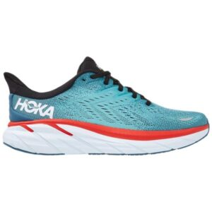 Hoka One One Clifton 8 - Mens Running Shoes - Real Teal/Aquarelle