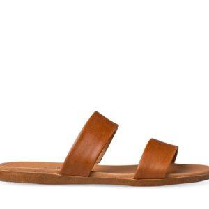 ITNO ITNO Womens Faith Sandal Caramel Natural Leather