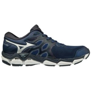 Mizuno Wave Horizon 3 - Mens Running Shoes - Estate Blue/Silver