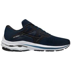 Mizuno Wave Inspire 17 - Mens Running Shoes - Black/Gibraltar Sea
