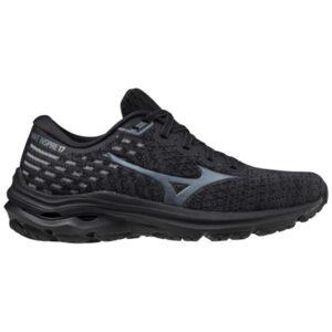Mizuno Wave Inspire 17 Waveknit - Womens Running Shoes - Obsidian/Turbulence