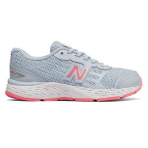 New Balance 680v5 - Kids Running Shoes - Air Blue/Guava
