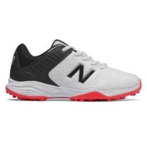 New Balance 4020v2 - Kids Cricket Shoes - White/Black/Red