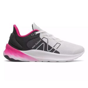 New Balance Fresh Foam Roav v2 - Womens Sneakers - White/Black/Pink