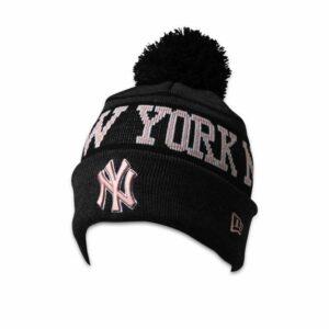 New Era New Era NY Yankees Knit Beanie Graphite