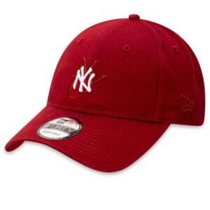 New Era New Era 9FortyCS NY Yankees Cap Dark Red
