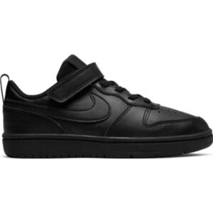 Nike Court Borough Low 2 PSV - Kids Sneakers - Triple Black