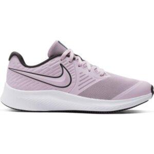 Nike Star Runner 2 GS - Kids Running Shoes - Iced Lilac/Off Noir/Soar/White