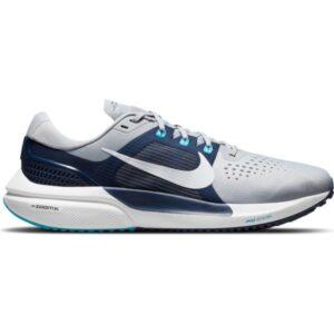 Nike Air Zoom Vomero 15 - Mens Running Shoes - Wolf Grey/White/Midnight Navy