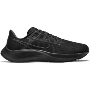 Nike Air Zoom Pegasus 38 - Womens Running Shoes - Double Black/Anthracite/Volt