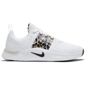 Nike Renew In-Season TR 10 Premium - Womens Training Shoes - White/Black/Light Bone/Wheat