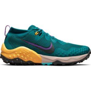 Nike Wildhorse 7 - Mens Trail Running Shoes - Mystic Teal/Dark Smoke Grey/Turquoise Blue