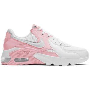 Nike Air Max Excee - Womens Sneakers - Pink Glaze/White Metallic Platinum