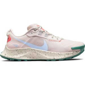 Nike Pegasus Trail 3 - Womens Running Shoes - Light Soft Pink/Aluminum Magic/Ember