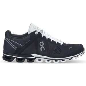 On Cloudflow Classic - Womens Running Shoes - Black/White