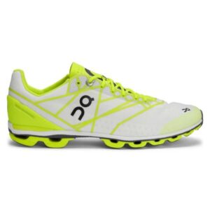 On Cloudflash - Womens Racing Shoes - Neon/White