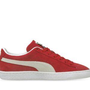 Puma Puma Mens Suede Classic XXI High Risk Red- White