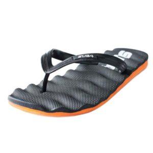 Air Sole Thong - Black/Orange