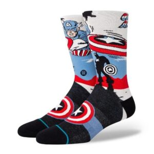 Stance Stance Captain America Marquee Offwhite