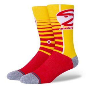 Stance Stance Atlanta Hawks Gradient Yellow