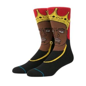 Stance Stance Notorious B.I.G Sock Red