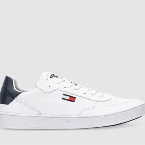 Tommy Hilfiger Tommy Hilfiger Mens Essential Leather Cupsole White