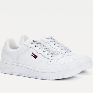 Tommy Hilfiger Tommy Hilfiger Womens Reflective Low Top Sneaker White