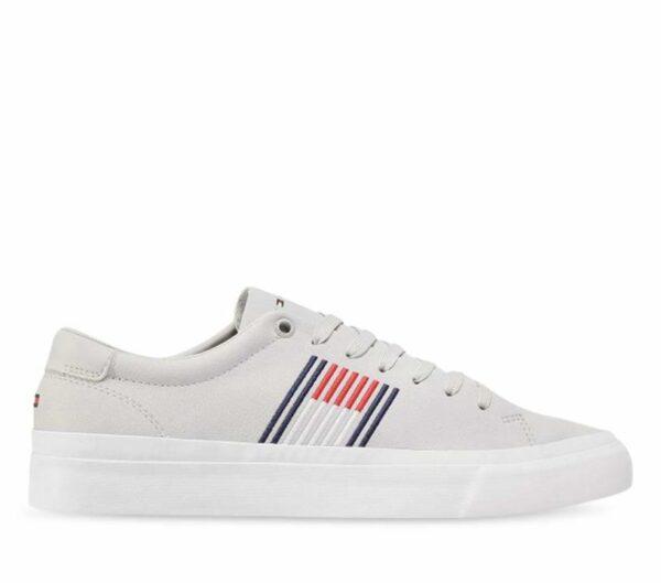 Tommy Hilfiger Tommy Hilfiger Mens Corporate Sneaker Grey Whisper
