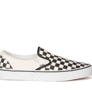 Vans Vans Classic Slip-Ons Checkerboard Black And White Checker