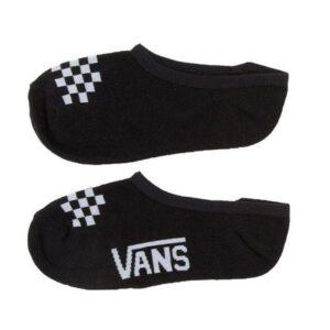 Vans Vans Womens Canoodle Super No Show Socks 1-6 3PK Black White