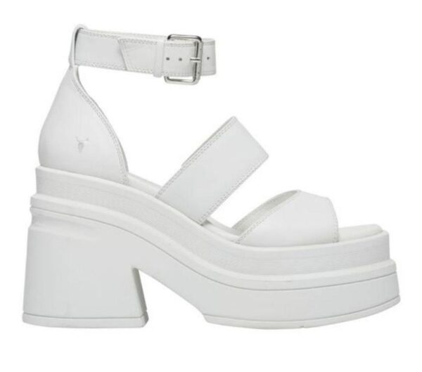 Windsor Smith Windsor Smith Womens Match Sandal White Leather