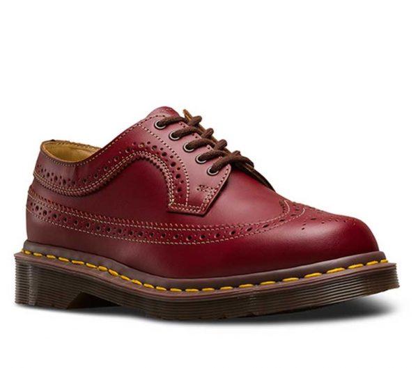 Dr Martens Dr Martens 3989 Vintage Brogue Shoe Red