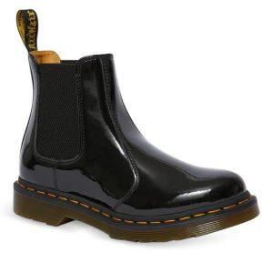 Dr Martens Dr Martens 2976 Patent Leather Chelsea Boot Black