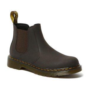Dr Martens Dr Martens 2976 Junior Leather Chelsea Boots Brown