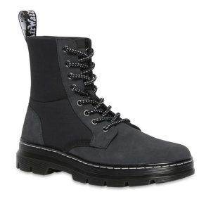 Dr Martens Dr Martens Combs Ii Trillium Boots Black