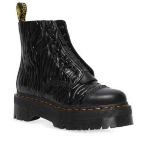 Dr Martens Dr Martens Sinclair Zebra Emboss Jungle Boot Black