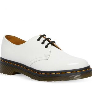 Dr Martens Dr Martens 1461 Patent Leather Oxford Shoes White